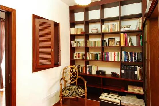 客厅与书房隔断装修效果图
