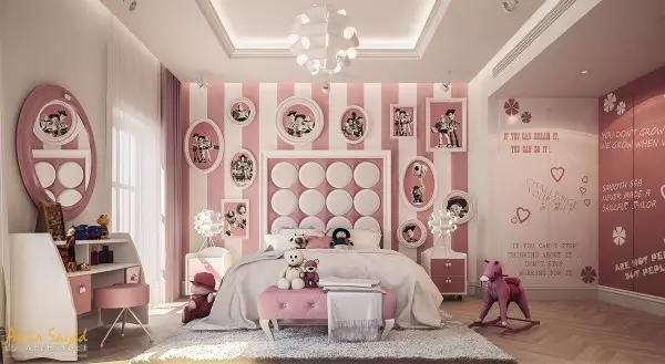 让你爱不释手的儿童房墙面装饰