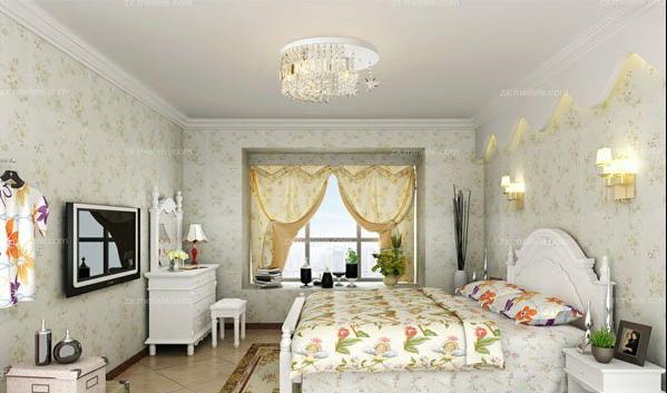 你绝对想不到的效果,主卧室布置装修