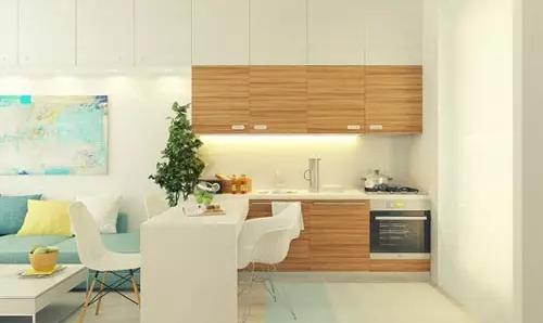 现代风格厨房橱柜效果图