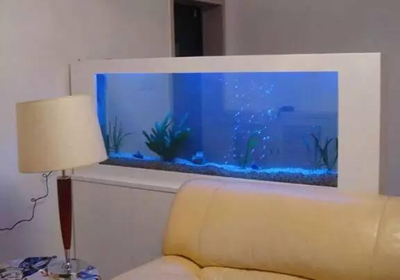 鱼缸装饰的玄关 看一看鱼缸玄关装修效果图