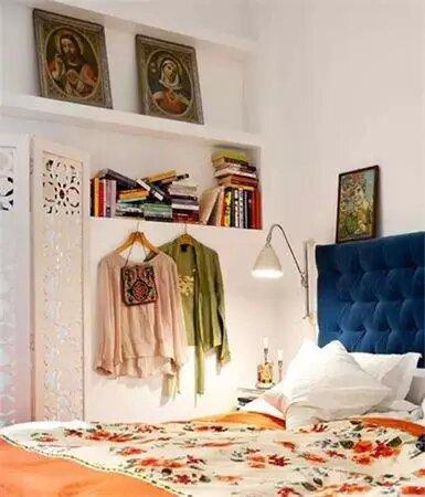 卧室书房一体装修效果图 十分省空间