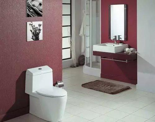 看看2平米的卫生间是如何弄出新意来的