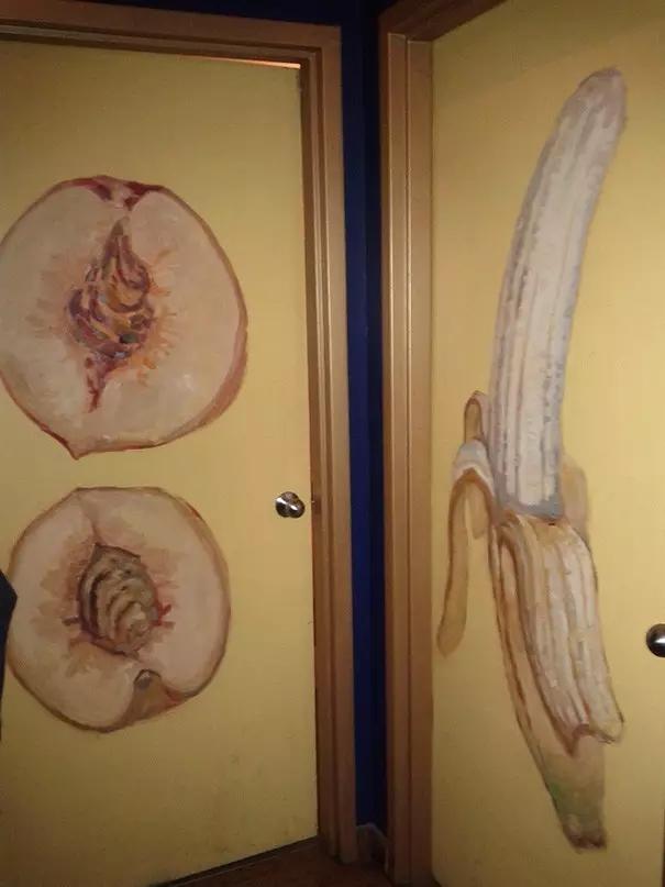 这么有创意的男女卫生间标志,真的不会走错吗?