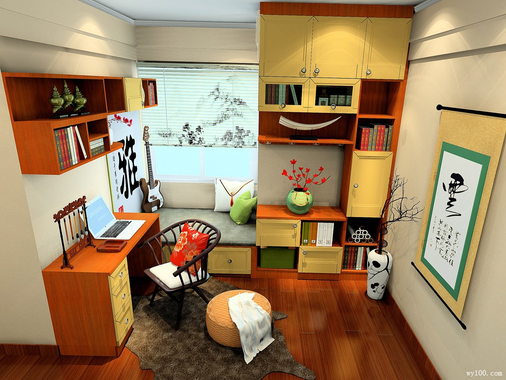 书房装修,打造属于你的阅读空间,多款案例可以参考哦