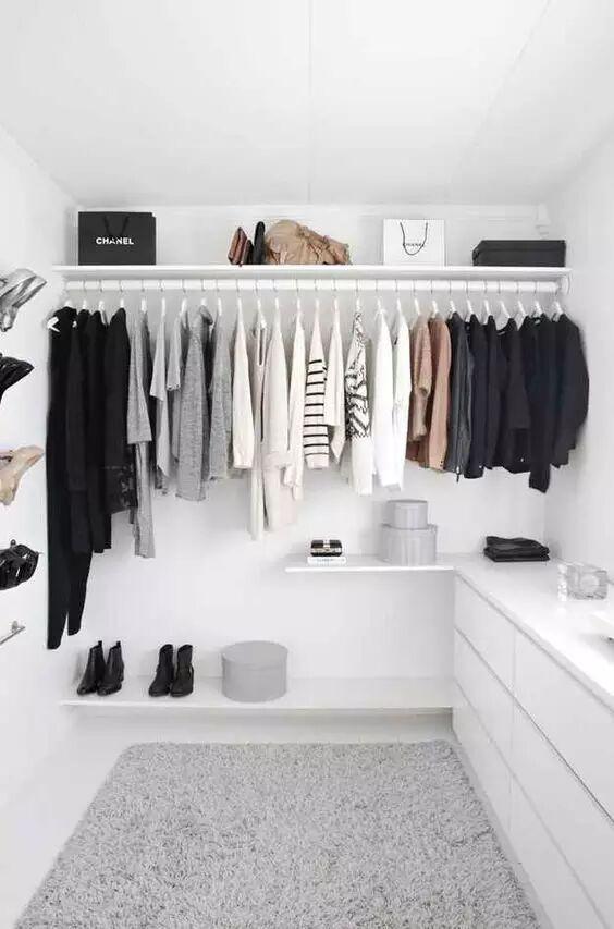 再谈衣物收纳就是装,现在流行衣柜不要门