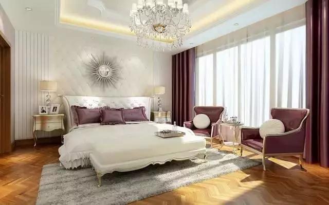 欧式卧室装修效果图,华丽到骨子里!