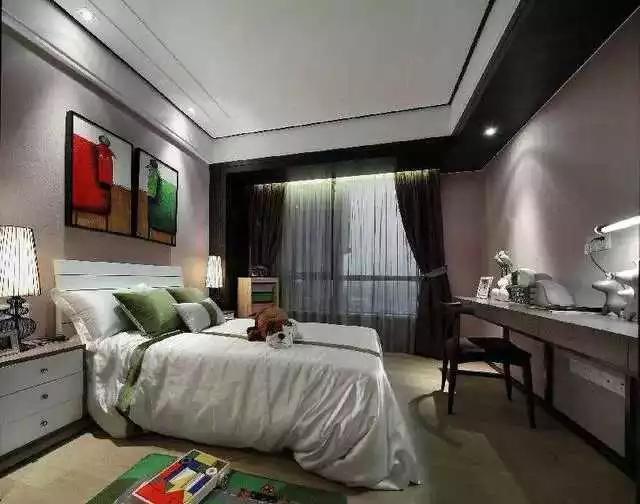 温馨卧室装饰设计,超赞!