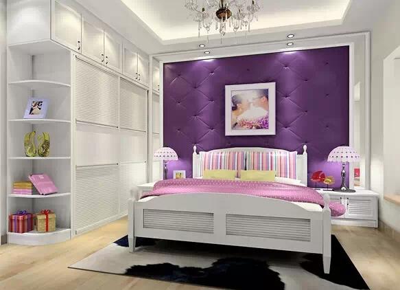 简约卧室这样装修 睡的更香了!