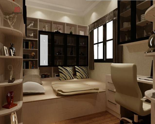 巧妙设计书房榻榻米床
