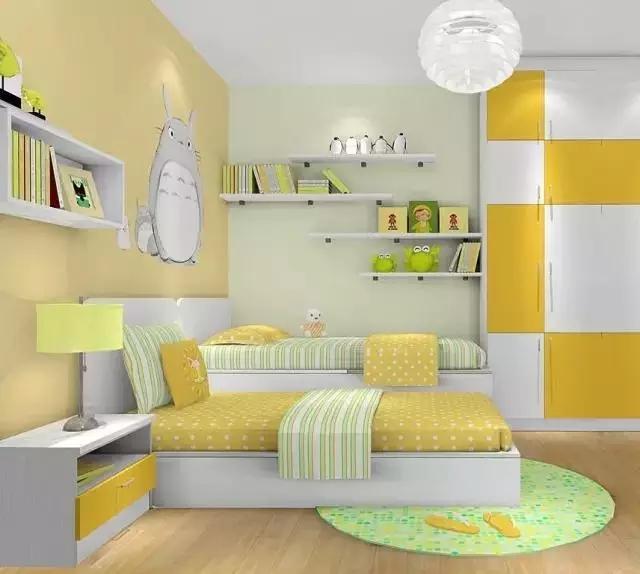 儿童房色彩搭配小知识,性别、年龄都有讲究