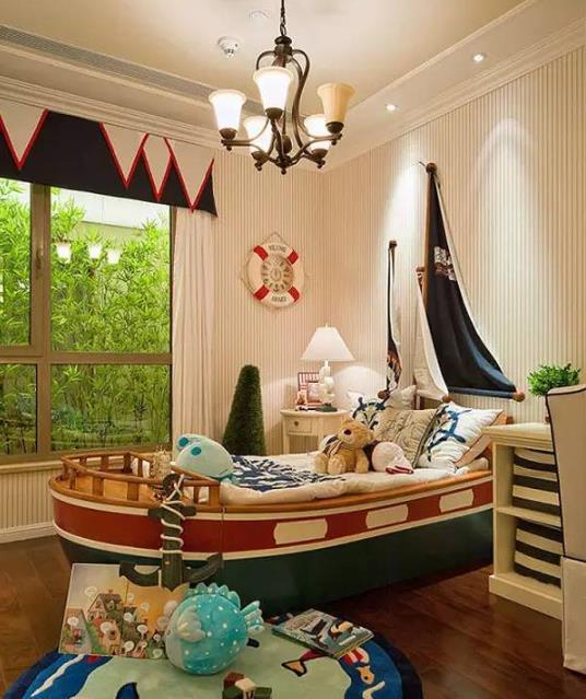 独一无二的儿童房实景设计