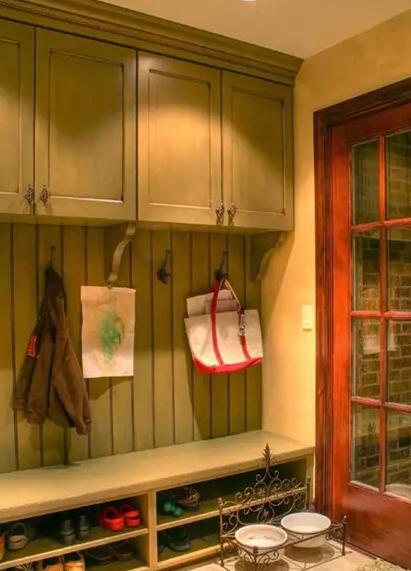 这样的玄关鞋柜你不想要吗?进门就赶走所有不好心情