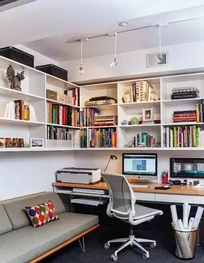 巧妙设计让书房与卧室兼容