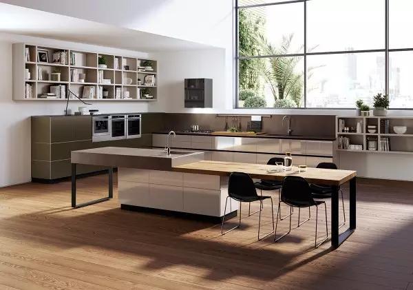 空间设计|时尚厨房设计,你会喜欢吗?