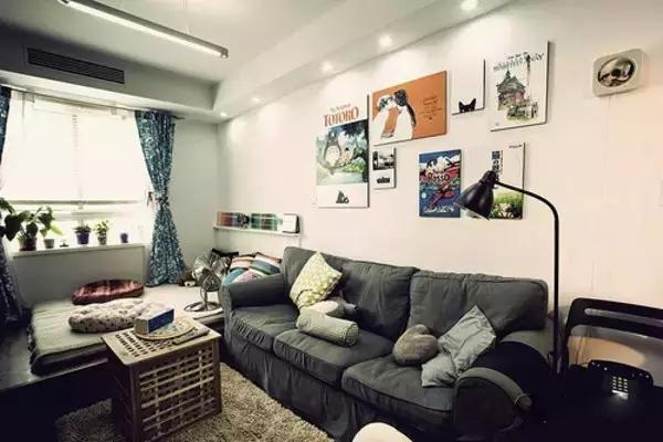 小户型客厅装修图片 实用空间+色彩搭配组合