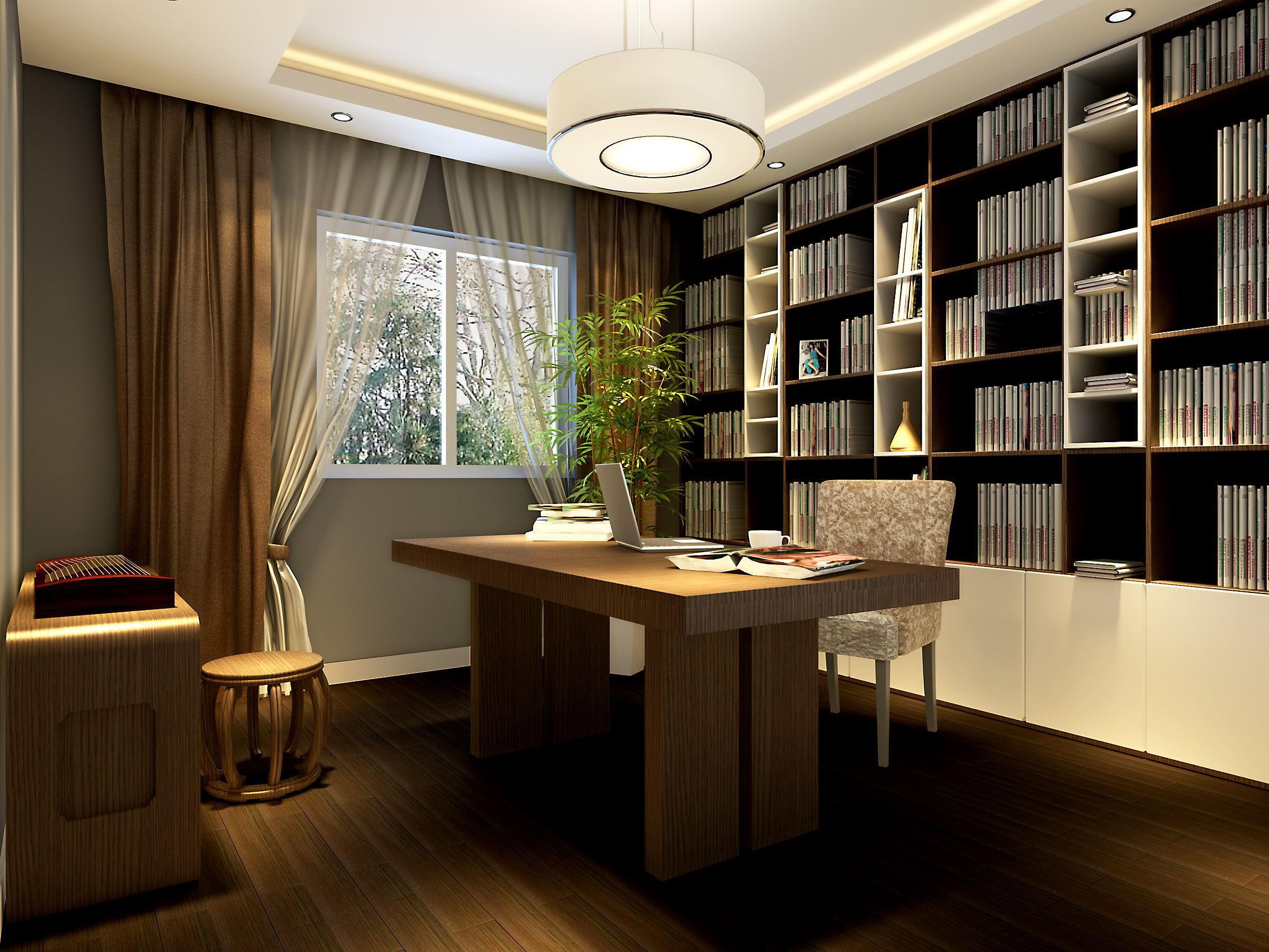 家庭书房的合理设计方法