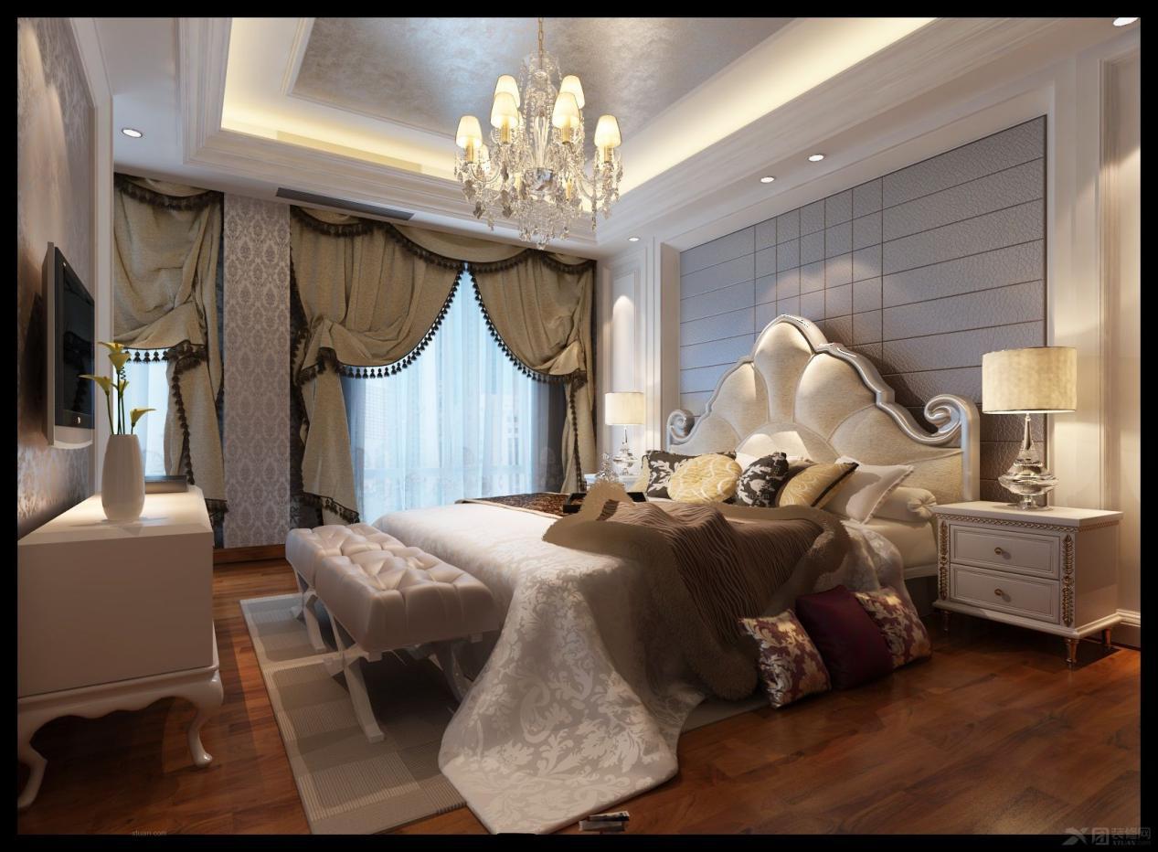 欧式风格卧室 装修效果图鉴赏