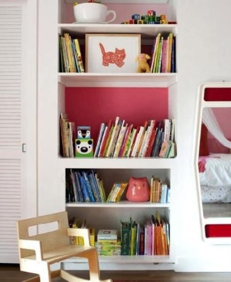 儿童房玩具柜怎么设计?