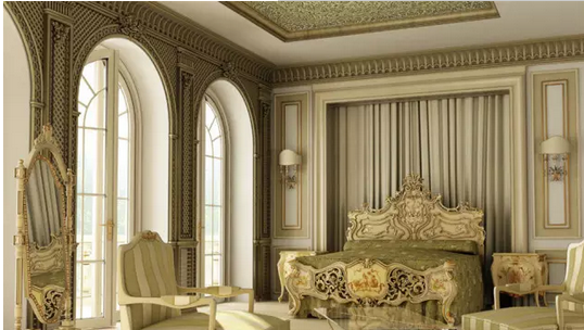 这样的欧式大厅设计,真的美呆了