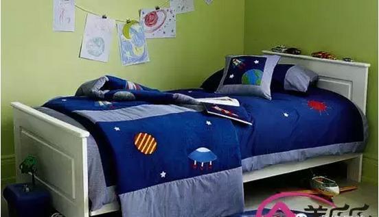 男儿童房壁纸贴图设计效果图片欣赏