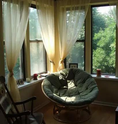 简单软装让阳台做成书房
