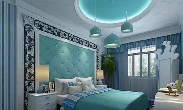 欧式风格卧室吊顶装修效果图 打造唯美氛围