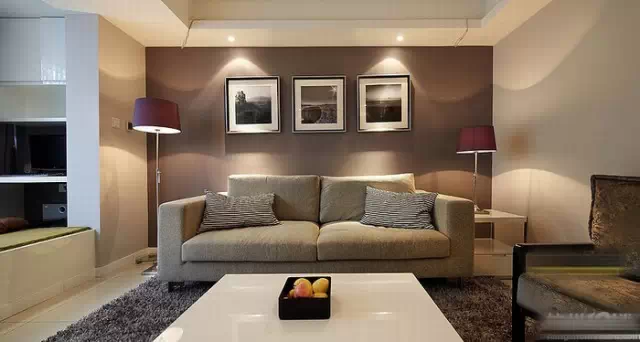 客厅装修效果图设计图片,客厅电视墙效果图欣赏