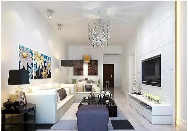 现代简约客厅吊顶设计,构造不一样的高格调居室