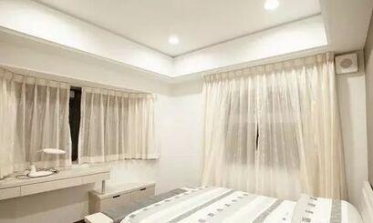 卧室飘窗窗帘设计搭配  请看图片!