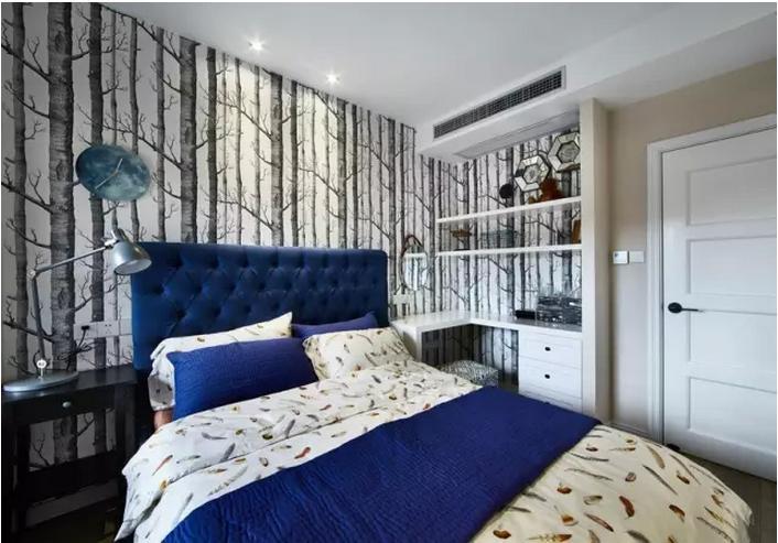 卧室贴墙纸还是刷漆好?