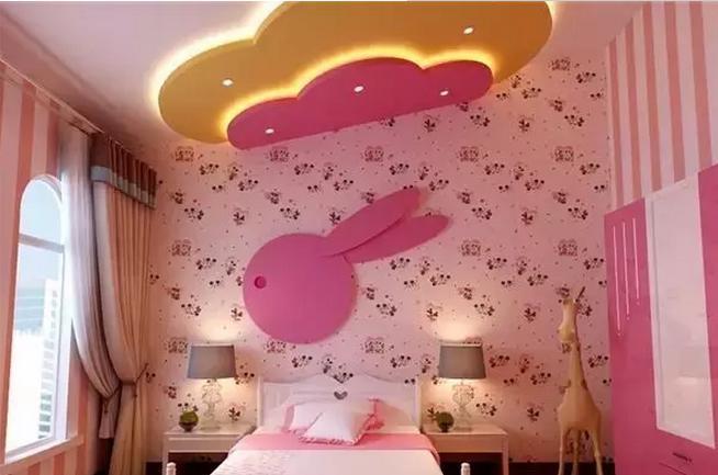给孩子一个美美的家,设计儿童房效果图