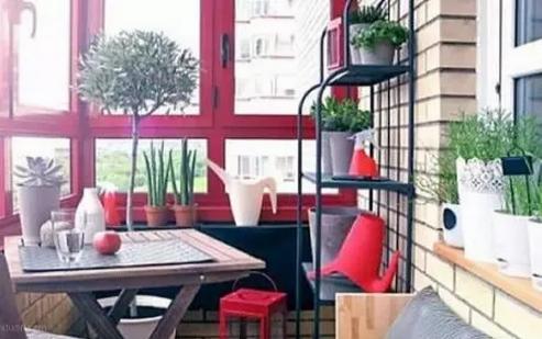 你想要的4种宜家风格阳台装修效果图赏析
