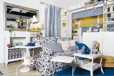 小户型客厅装修设计巧布局 让客厅不再拥挤
