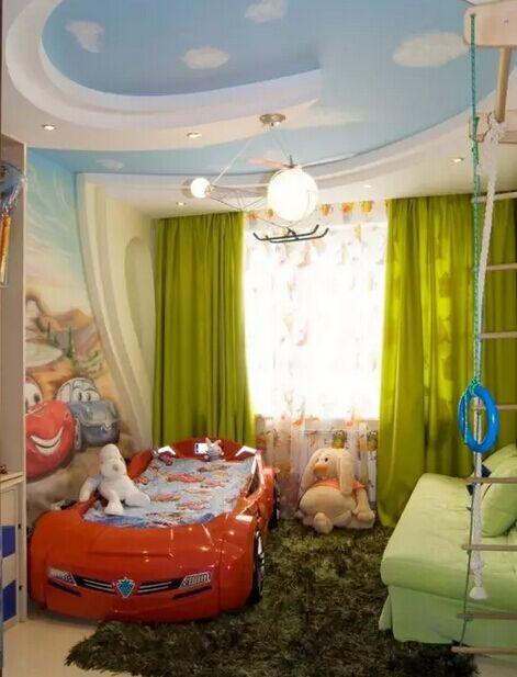 必看的儿童房墙面装修效果图   美晕也不要吃亏啊!