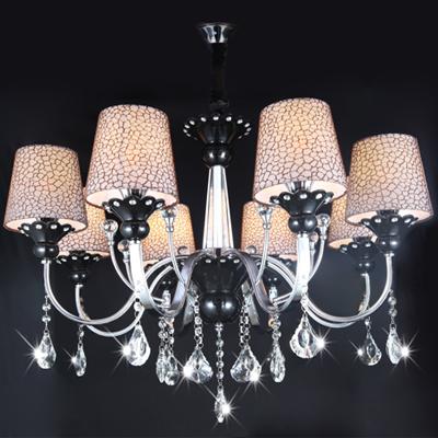 现代简约灯饰餐厅灯水晶灯具餐厅卧室灯