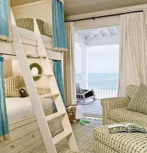 卧室装修 儿童房上下床效果图