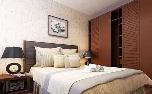 中式风格卧室衣柜效果图欣赏