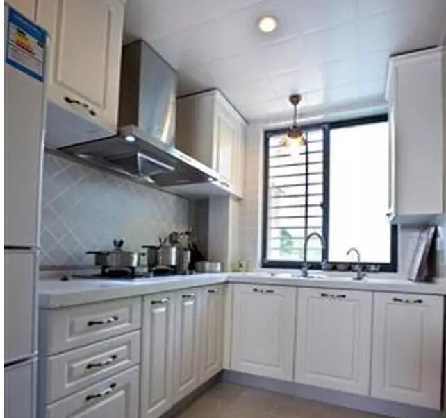 小户型整体厨房,要美观实用都重要!-维意定制家具商城
