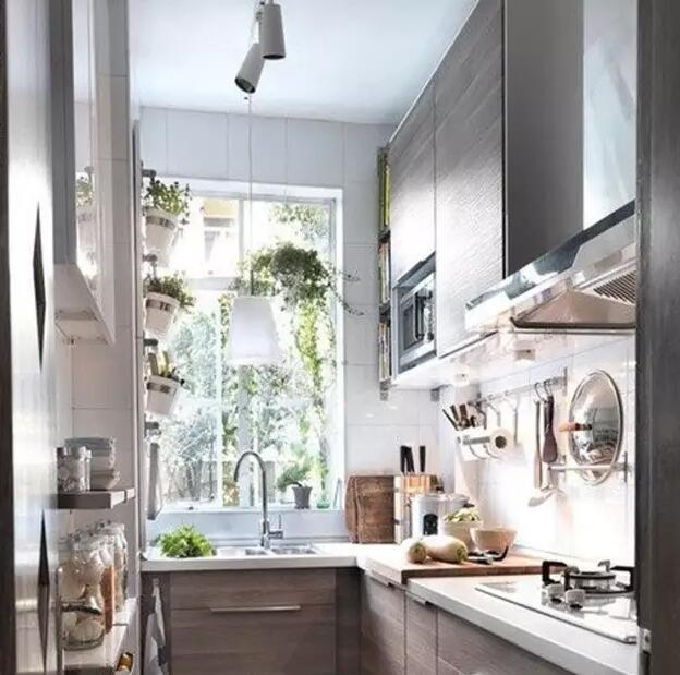 小户型整体厨房,要美观实用都重要!