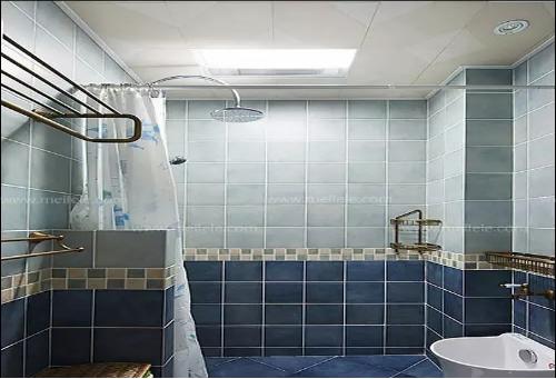 家装卫生间效果图,地中海绽放别样风采