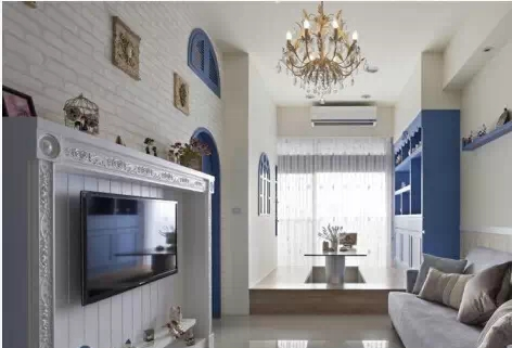 小户型客厅兼书房装修图有哪几种高清图片