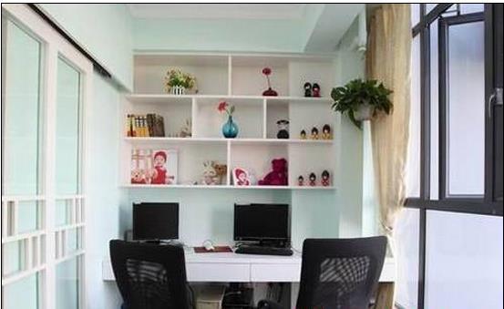 怎么把阳台改成小书房