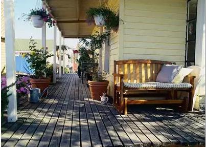 小户型打造阳台装修效果图简直太美了 下雨也会很美好
