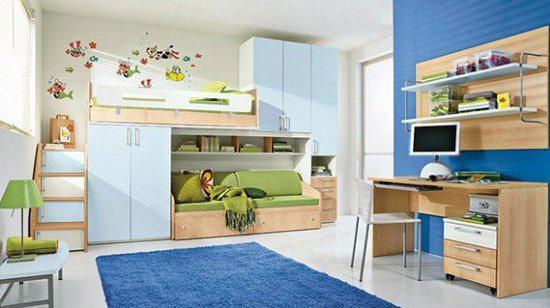 儿童房设计效果图装修 打造童话小王国