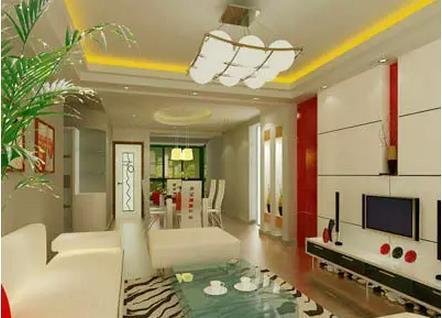 客厅天花吊顶设计图 打造个人舒适空间