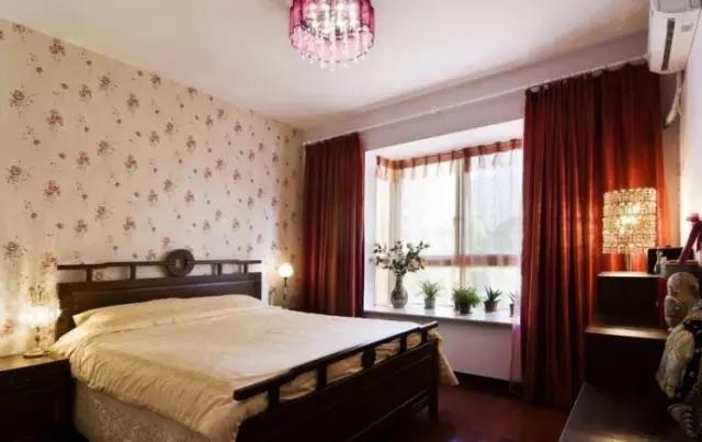 高档的卧室窗帘布置方式 打造完美休息区