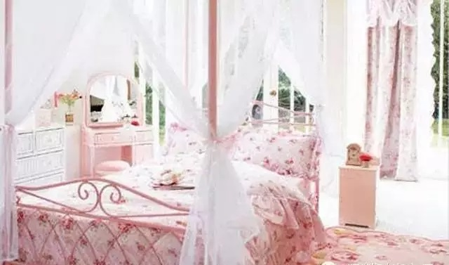 女生卧室装修效果图平凡家庭中的公主房