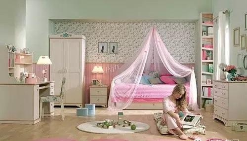 可爱女生卧室装修效果图