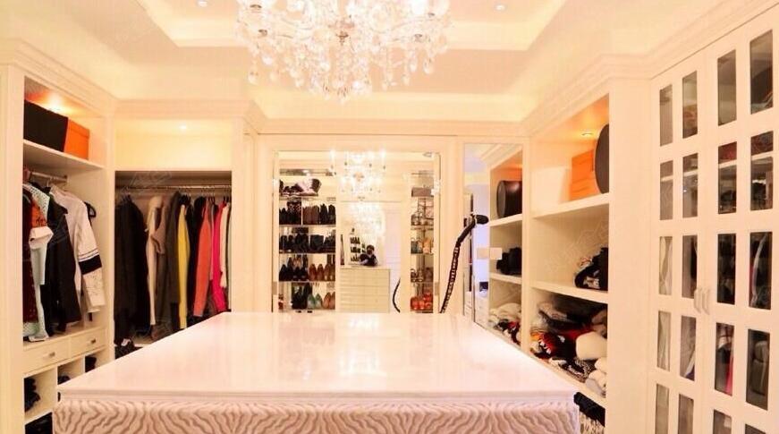 最奢华的衣帽间应该是什么样子的